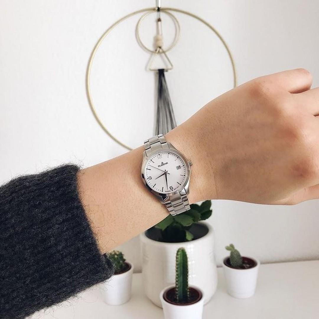 Unsere neue Tresor Woman gibt es auch mit Metallband ♥️ #watchlove #timepiece #instawatch #uhren #watchoftheday #germanwatch #watchlover #wotd #potd #watchstyle #watchtrend