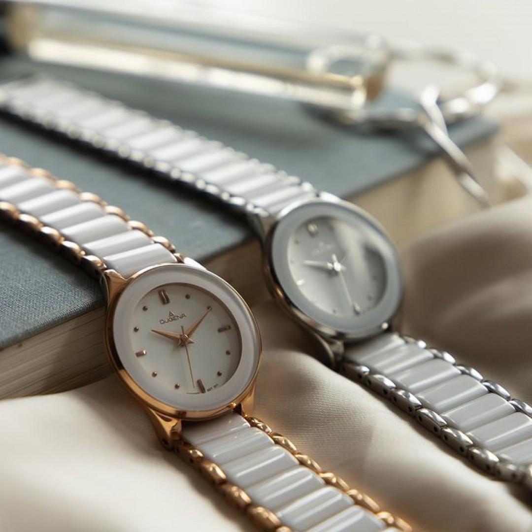 Mögt ihr euren Schmuck in Silber oder Roségold lieber? Unsere Amica Ceramica gibt es in beiden und noch weiteren Farben. Da ist für jeden Geschmack etwas dabei!  #dugena #dugenawatches #onlinehsopping #dugenashop #uhr #uhren #amicaceramica #zeit #watches #jewelry #outfit #look #silver #roségold