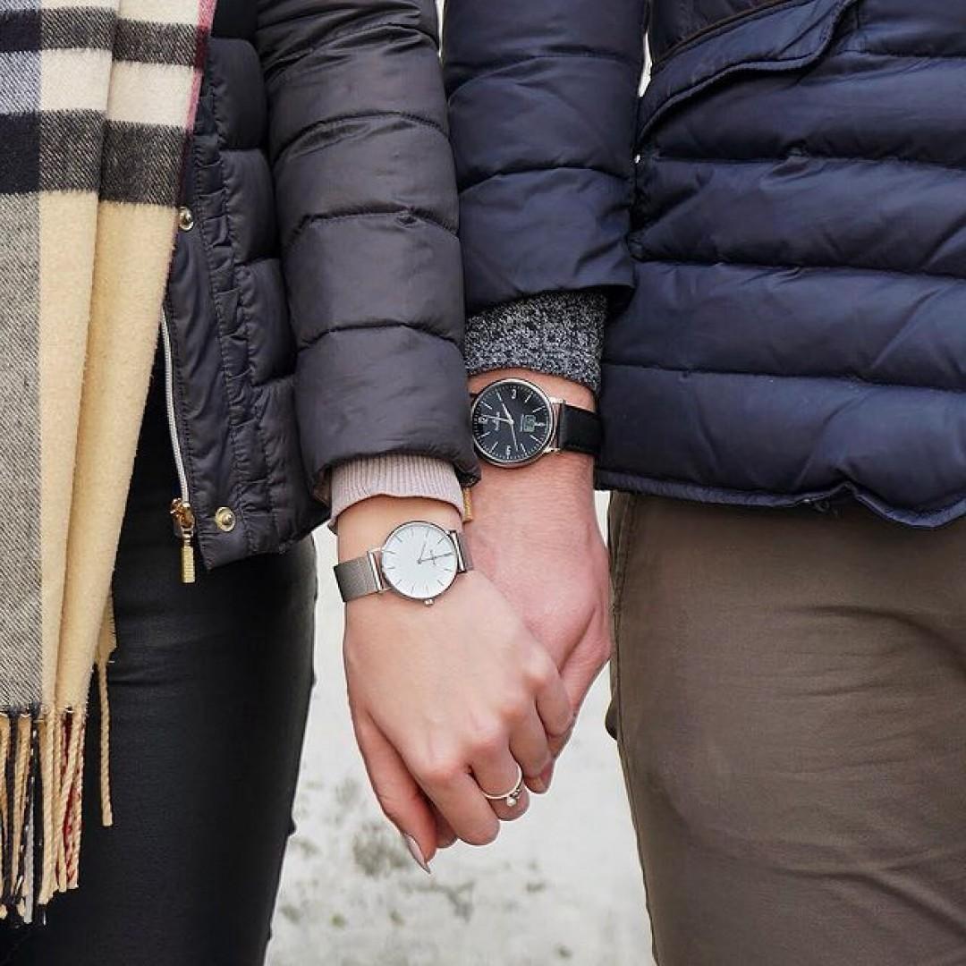 Happy Valentine's Day! 💗🌹 #dugena #watchlove #timepiece #uhren #watchoftheday #germanwatch #watchlover #wotd #potd #couplegoals #valentinesday #inlove #spreadlove #outfitdetails